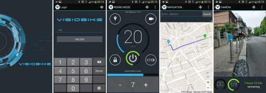 app smartphone pour vélo électrique