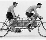 Tandem électrique Humber, 1897