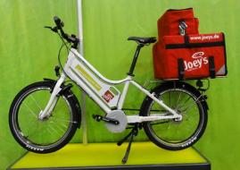 Hamburg livraison pizza en vélo à assistance électrique