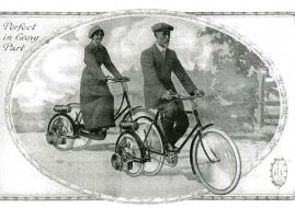 Wall Auto -Wheel, le premier kit de conversion de l'histoire