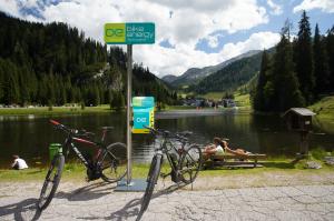 Station de chargement des vélos électriques