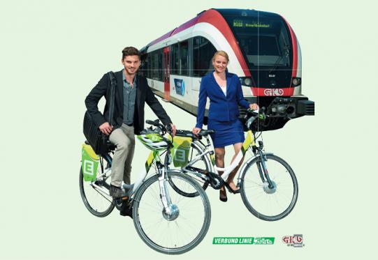 Vélos électriques à louer à Graz