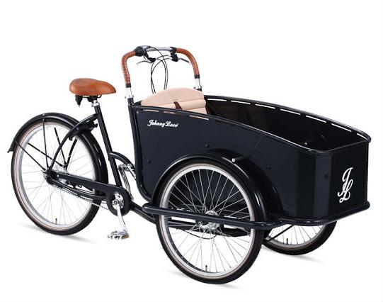 vélo cargo triporteur électrique