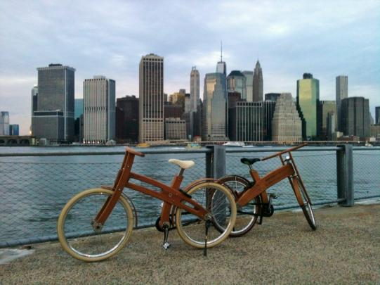 Ebough, vélo électrique en bois