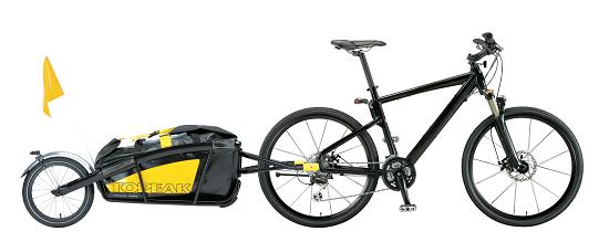 vélo électrique avec remorque