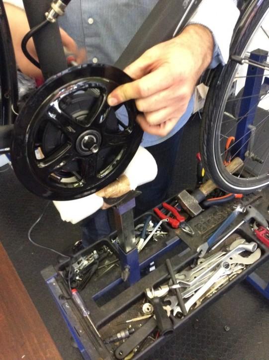 exemple montage kit vélo électrique