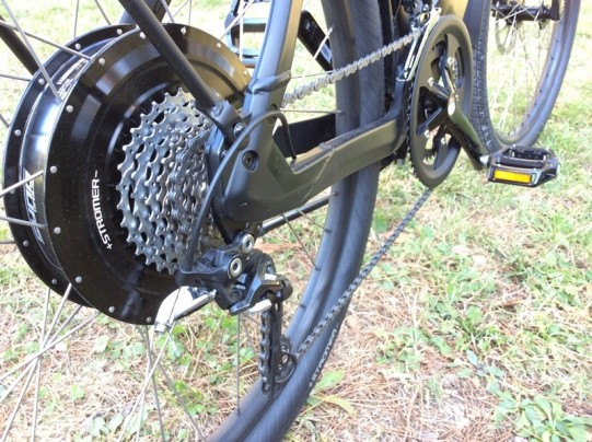 dérailleur vélo électrique Stromer ST2