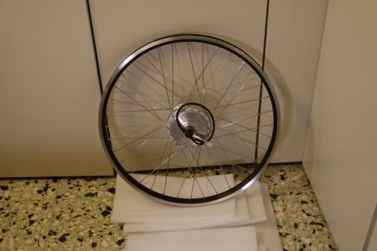 Roue kit vélo électrique