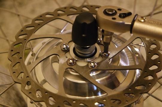 nouvelle roue avec moteur