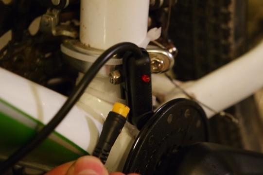 capteur vélo électrique