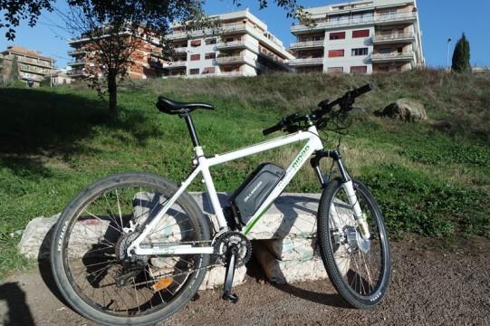 vélo avec kit VAE Dillenger