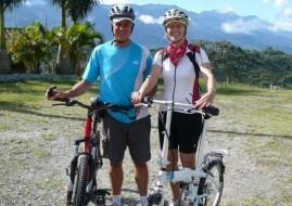 cyclotourisme à vélo électrique