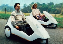 tricycle électrique Sinclair C5