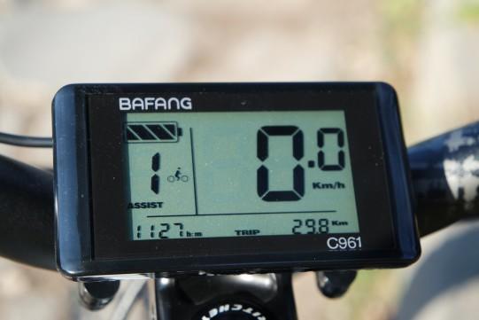 affichage fat bike électrique