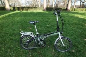 test vélo électrique pliant Monty EF39