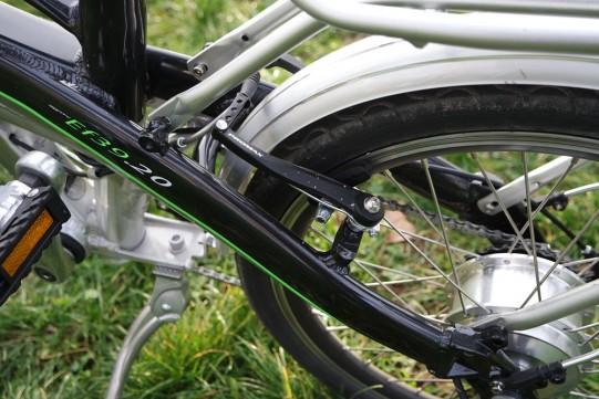 freins vélo électrique pliant