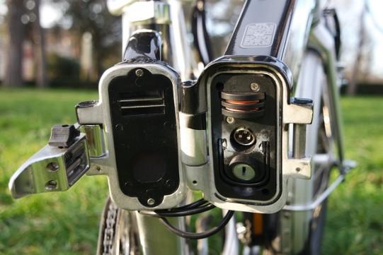 test vélo électrique pliant