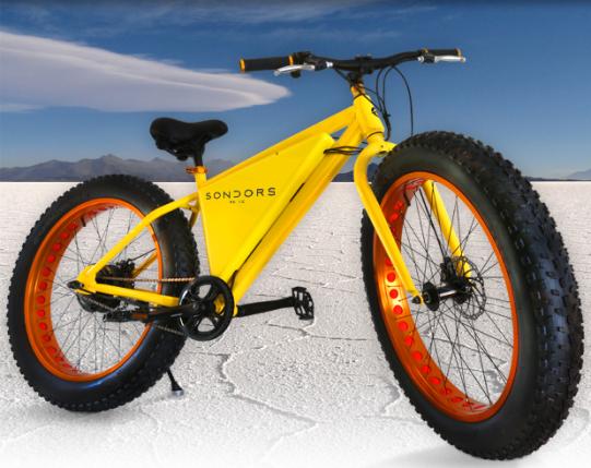 fat bike électrique Storm Sondors