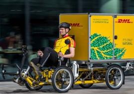 vélo cargo électrique DHL