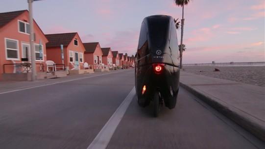 tricycle electrique arrière