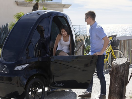 tricycle electrique, passager