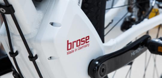 moteur pour vélos électriques Brose