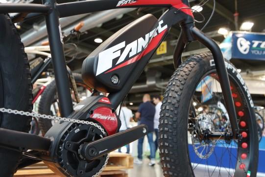 moteur Brose sur fat bike electrique Fantic
