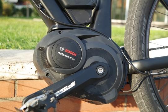 moteur Bosch sur vélo électrique Cube