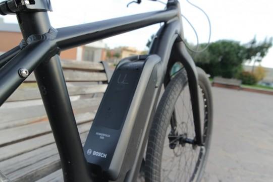 détail vélo électrique