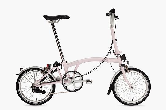 Un typique vélo Brompon